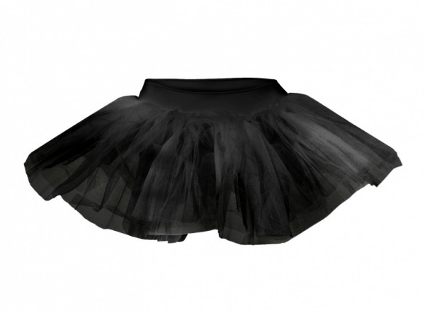 Ballet Skirt Tutu Short Ladies Black Size L / Xl