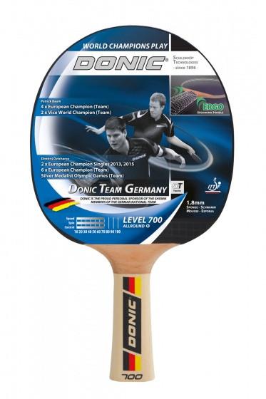 Table Tennis Bats Team Germany 700 Black