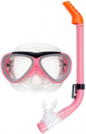 Snorkel Set Junior Pink