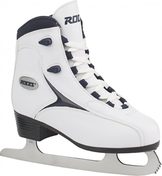 Figure Skating Rfg 1 Girls Synthetic Leather White Size 28