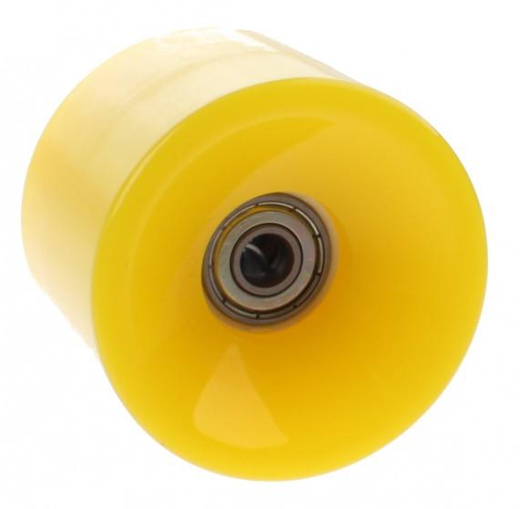 Urban District Longboard Wheels 65 x 51 mm 82a Yellow