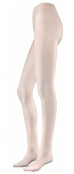 Tights With Foot Pink Size S