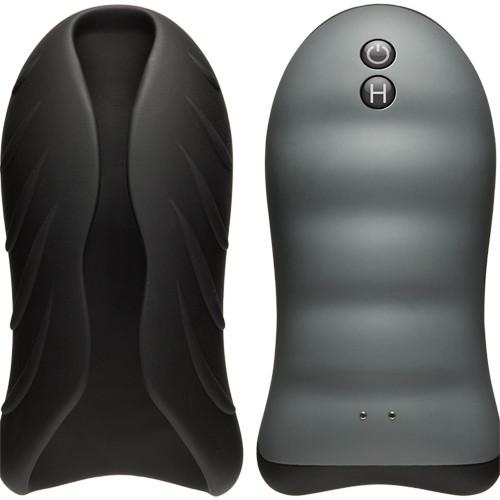 Silicone Warming Stroker - Vibrating