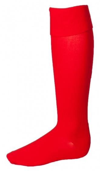 Soccer Socks Unisex Red Size 30/34