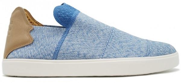 Sneakers Vulc Slip On Pw Men's Blue Size 37 1/3