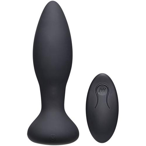 Vibe Experienced Vibrating Butt Plug - Black