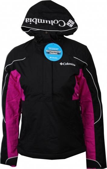 Ski Jacket Antler Falls Ii Ladies Black/Purple/White Size Xs