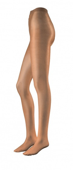 Tights Extra Shiny Light Brown Mt L