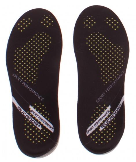 Insoles Sports Performance Unisex Black Size 42/43