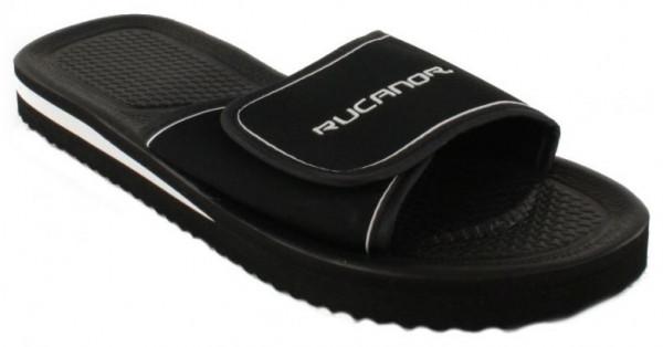 Slippers Santander Unisex Black Size 37
