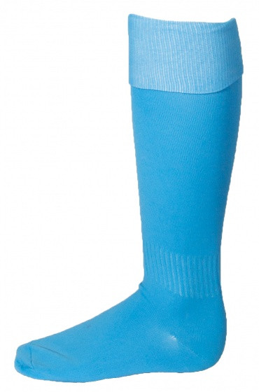Soccer Socks Unisex Light Blue Size 35/40