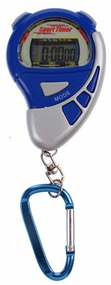 Stopwatch Sports Active With Alarm Blue