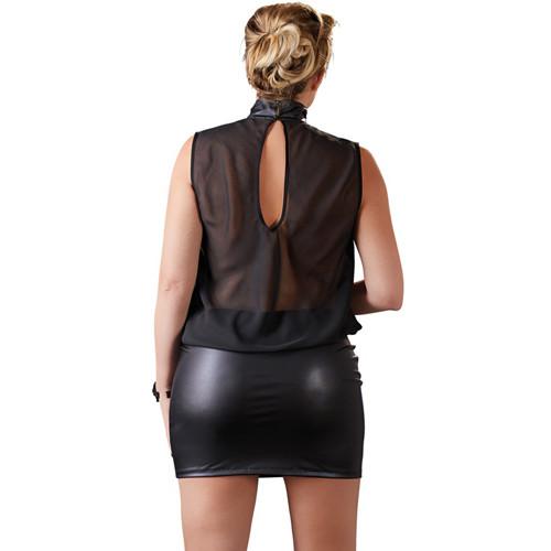 Dress transparent black