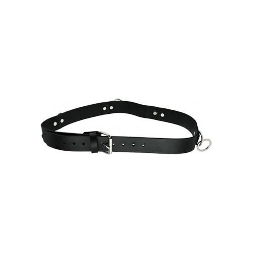 Strict Leather Punk Bondage Belt