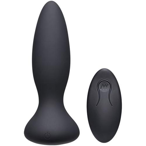 Vibe Adventurous Vibrating Butt Plug - Black