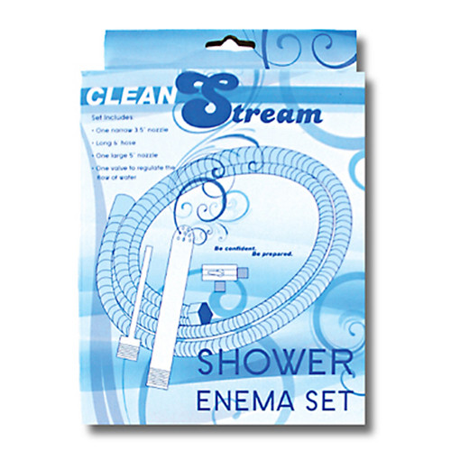 CleanStream Shower Enema System
