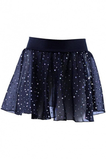 Skirt With Glitter Black Size 152/164