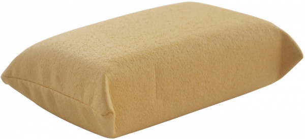 Table Tennis Cleaning Sponge 13 X 9 cm Yellow