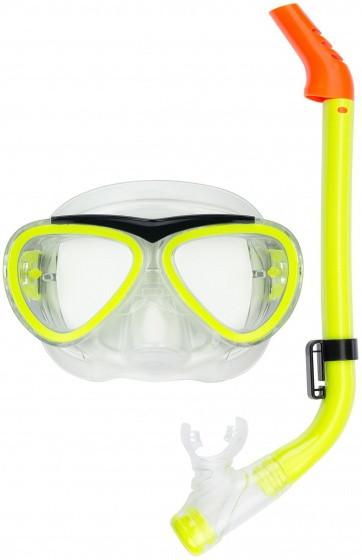 Snorkel Set Junior Yellow