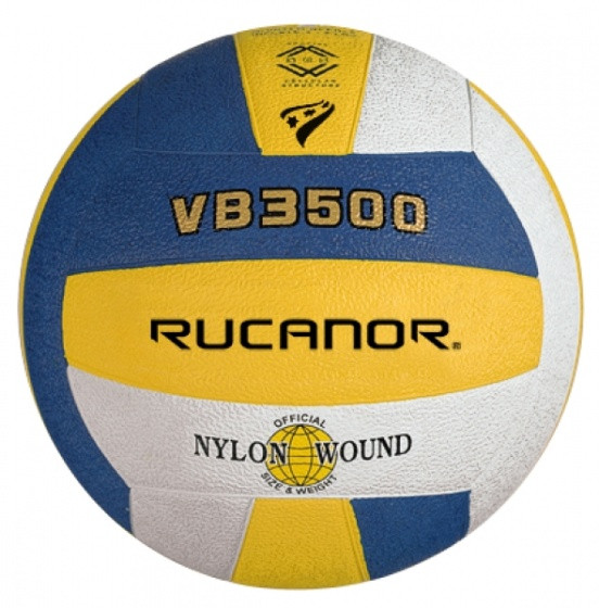 Volleyball Vb3500 Yellow / Blue / White Size 5