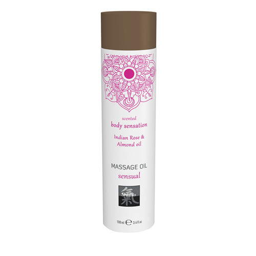 Massage Oil Sensual - Indian Rose & Almond