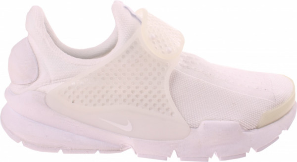 Sneakers Sock Dart Jacquard Men White Size 42.5