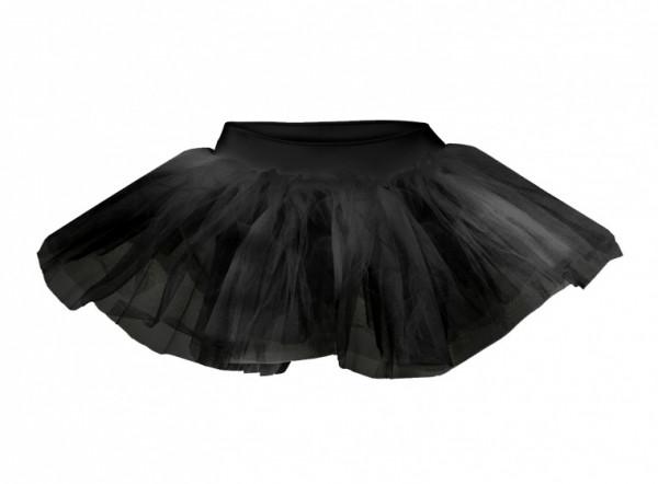 Ballet Skirt Tutu Short Ladies Black Size S / M