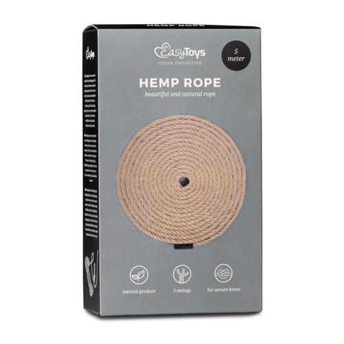 Hemp Bondage Rope 5M