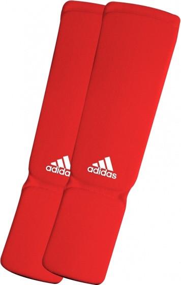 Elastic Shin / Instep Protectors Junior Red Size M