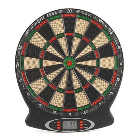 Electronic Dartboard With Arrows Black 38x 44x3 cm