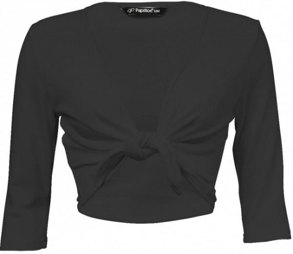 Cross-Over Vest Cotton/Polyamide Black Size S/M