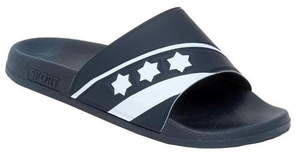 Slippers De Luxe Unisex Dark Blue Size 35