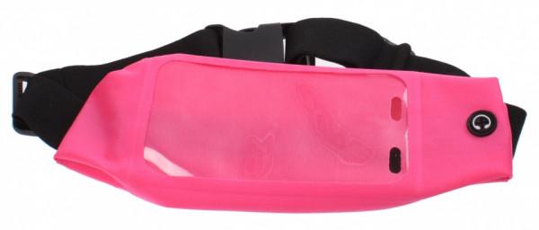 Sport Waistband Waist Bag Polyester 51-71 cm Pink