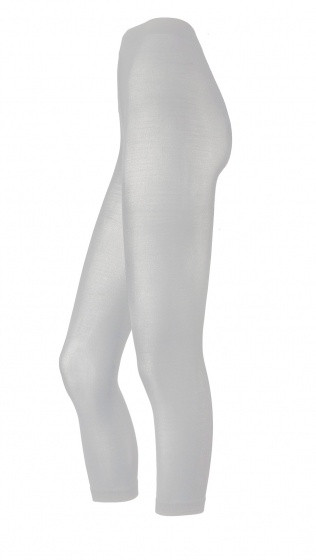 Tights Without Foot White Size S