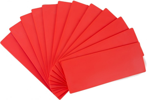 Field Markings 10 Pieces Red