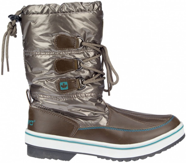 Snowboots Sr Glossed Trotter Ii Taupe Size 38
