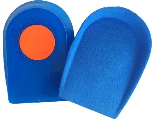 Gel Heel Cushions Mens Blue