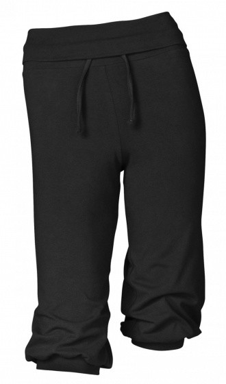 Sports Trousers 3/4 Black Size S