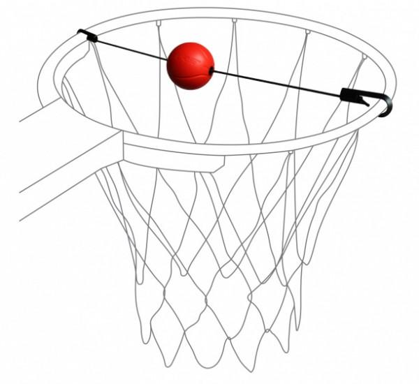 Basketball Target Trainer Black / Red