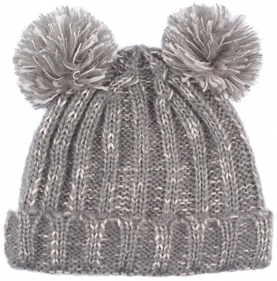 Hat Anna Girls Gray Size One Size