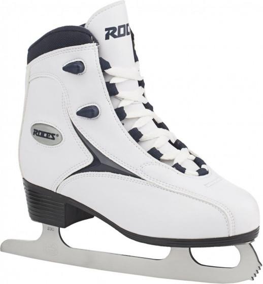Figure Skates Rfg 1 Girls Synthetic Leather White Size 26