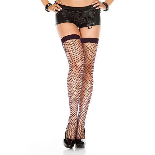Long Classic Fishnet Stockings
