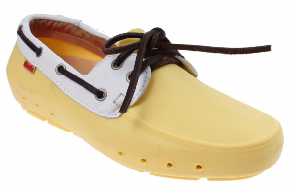Mocklite Boater Walkers Unisex Yellow Mt 36