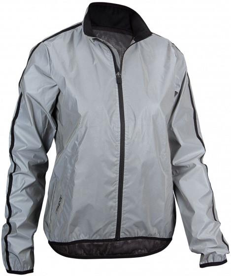 Running Jacket Ladies Silver Size 36