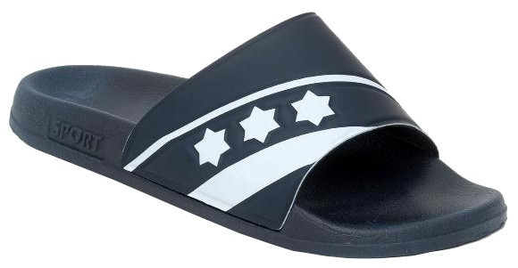 Slippers De Luxe Unisex Dark Blue Size 37