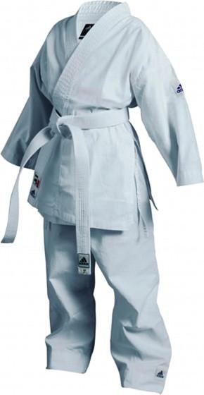 Karate Suit K200 Junior White Size 110-120 cm