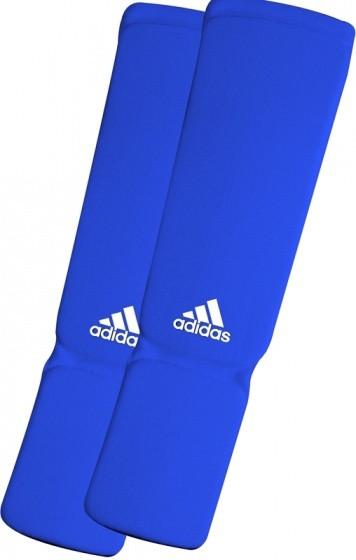 Elastic Shin/Skin Pads Junior Blue Size L