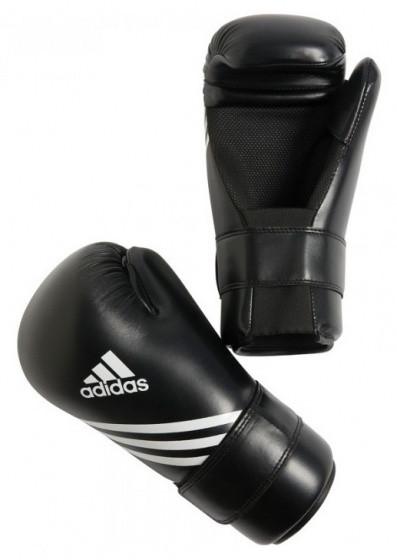 Boxing Gloves Semi Contact Black Size L