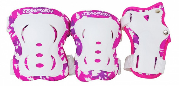 Protection Set Fid Girls White / Pink Size M
