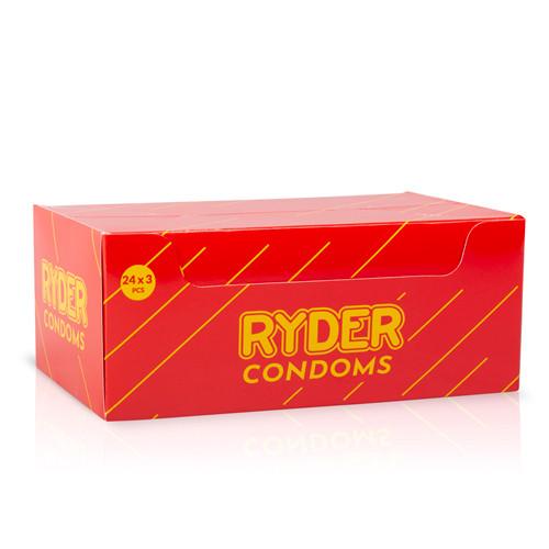 Ryder Condooms - 24 x 3 Pcs.